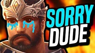 I almost made him cry... (Smite Funny Moments)