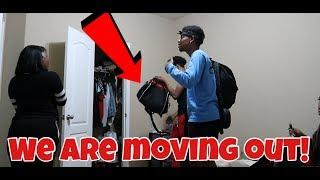 MOVING OUT PRANK ON ROOMMATES!!!