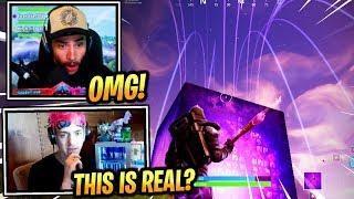 STREAMERS REACT *NEW* CUBE ACTIVATION! - Fortnite Epic & Funny Moments (Fortnite Battle Royale)