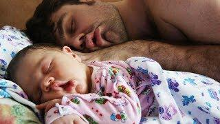 Cute Baby Mimics Daddy - Funny Baby and Dad Video