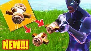 *BULLET GRENADE* NEW SEASON 4 WEAPON - Fortnite Funny & WTF Moments #33