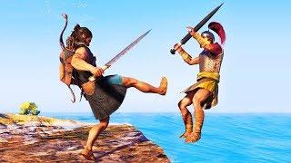 Assassin's Creed Odyssey Funny Moments!