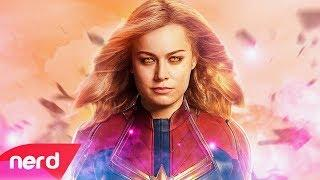 Captain Marvel Song | Born to Fly | #NerdOut ft. Halocene (Unofficial Soundtrack)