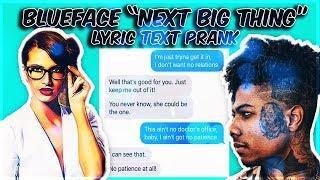 "BLUEFACE ""NEXT BIG THING"" LYRIC TEXT PRANK ON TEACHER!!! (THINGS GOT HEATED)"