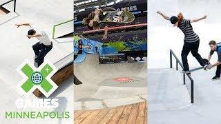 Men's Skate Street Qualifier, Next X Skate Park & Street: FULL BROADCAST | X Games Minneapolis 2018