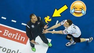 COACH STOPS POINT !? Funny Volleyball Videos (HD)