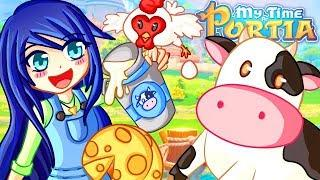 STARTING A NEW FUNNY LIFE in My Time at Portia!