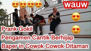 Prank Bikin Baper Cowok-Cowok Ditaman !!! Pura Pura Engga Bisa Nyanyi Bikin Ketawak Ngakakk ????