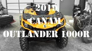 2019 CanAm Outlander 1000r Pickup and Walk Around!