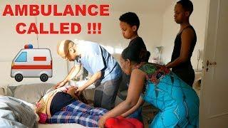 HEART ATTACK PRANK ON AFRICAN FAMILY!!