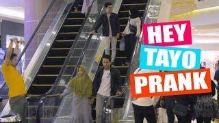 HEY TAYO PRANK - PURA2 MANGGIL ORANG DENGAN HEY TAYO