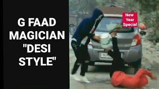 FAAD MAGICIAN - PRANK || Pranks in india || Pranks 2019 || Harsh Chaudhary || New Year 2019 Special