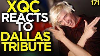 xQc Reacts to Dallas Fuel Tribute - Overwatch Funny Moments 171