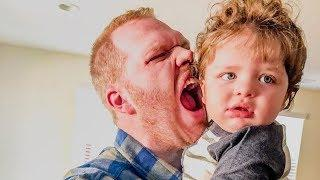 Cute Sweet Baby And Daddy Moments - Funny Baby Video