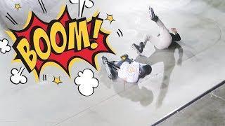 INSANE SKATE PARK CRASHES, TRICKS & KIDS!