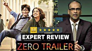 Zero Trailer Expert Review & Reaction, Zero Trailer Media Review, Shahrukh Khan, Anushka, Katrina