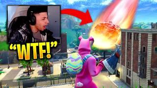 MYTH REACTS TO METEOR DESTROYING TILTED TOWERS! - Fortnite Funny Fails & Epic Twitch Moments! #8