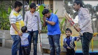 4 YEAR OLD KID | MERE BHAI KO MARA PRANK | FIRST TIME IN INDIA | BY DUDE ITS BAKCHODI