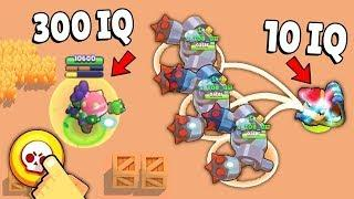 300 IQ vs 10 IQ in Brawl Stars Glitches & Funny Moments & Fails | #12