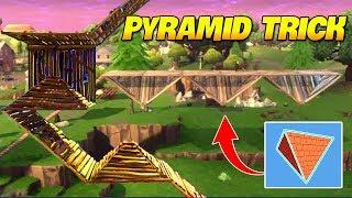 *TRICK* HOW TO USE PYRAMIDS BUILD   Fortnite Twitch Funny Moments #150