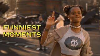 Black Panther - Funniest Moments