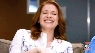 Grey's Anatomy 14x20 April Is High & Crazy And Funny - April Funny Scene