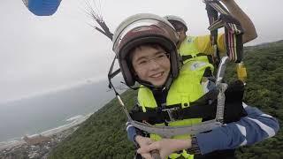 Paragliding in Wan Li, Taipei