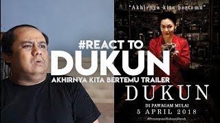 #ZHAFVLOG - DAY 92/365 - #React to DUKUN - Akhirnya Kita Bertemu Trailer | Umie Aida Bront Palarae