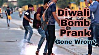 Diwali Bomb Prank - Gone wrong | Diwali Prank in India | Oye Indori