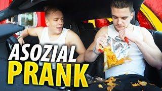 McDonalds PRANK | Asozial im McDrive ????
