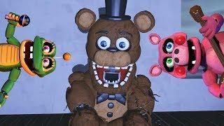 FUNNIEST FNaF Try Not To Laugh Challenge (Funny FNaF Animations)
