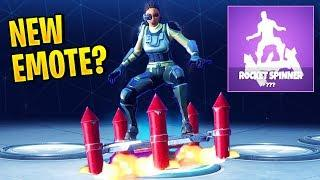 NEW LEAKED EMOTE? (Rocket Spinner) | Fortnite Best Moments #29 (Fortnite Funny Fails & WTF Moments)