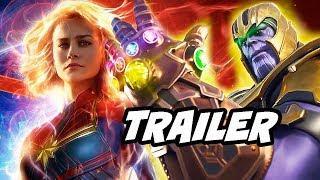 Captain Marvel Trailer 3 - How Marvel Is Tricking You and Thanos Avengers Endgame