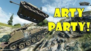 World of Tanks - Funny Moments | ARTY PARTY! (April 2018)
