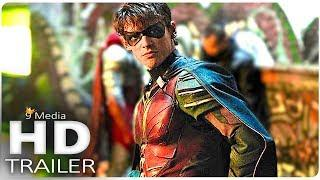 "TITANS ""Robin Meets Batman's Replacement"" Trailer (2018) New Superhero Sci-Fi Series HD"