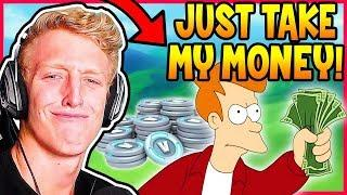 TFUE FINALLY BUYS AN ITEM AFTER GETTING BANNED! | Fortnite Epic & Funny Moments