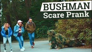 Scare PRANK  BUSHMAN