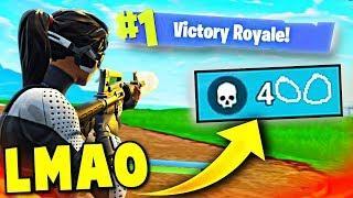 I GOT 100+ KILLS IN ONE GAME! ???? (Fortnite Battle Royale Funny Moments)