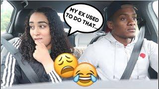 MY EX USED TO DO THAT PRANK ON MY BOYFRIEND! *HE GETS MAD*