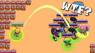 INSANE FUNNY LUCKY & FAIL MOMENTS! Brawl Stars Funny Moments & Glitches #17