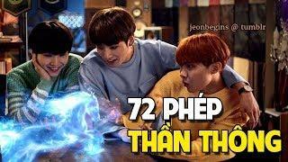 [BTS Funny Moments #25] 72 Phép thần thông biến hóa nhà BANG TAN