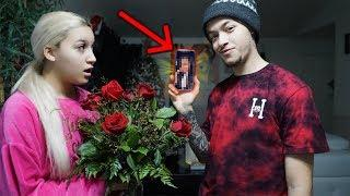 My EX Sent Me Flowers PRANK On Boyfriend!! (BACKFIRES!) He's Talking To His Ex!!