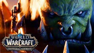 "World Of Warcraft: Battle For Azeroth - Saurfang ""Old Soldier"" Cinematic Trailer"