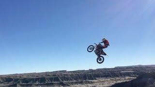 EXTREME Motorcycle Jump Stunt