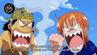One piece Funny Moments - Funny Nami vs Luffy Eng Sub #1