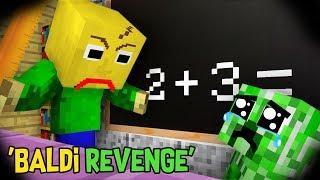 Monster School : FUNNY BABY MONSTERS Vs BALDI REVENGE (PART 2) : Minecraft Animation