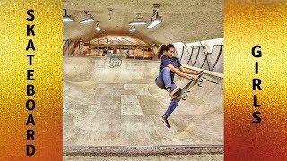 AWESOME GIRLS SKATEBOARDING 2018! BEST SKATE & SKATEBOARD & SKATING TRICKS COMPILATION #2