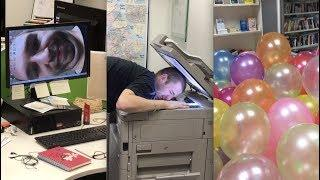 How to prank an entire office ????????