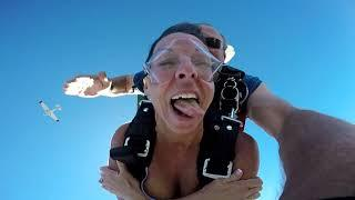 Rhonda S. at Skydive OBX