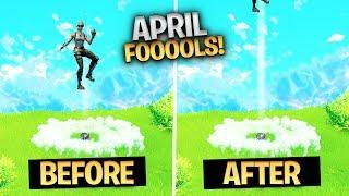 The REAL Fortnite APRIL FOOLS prank